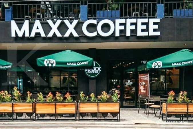 Maxx Coffee, cafe di kemang village