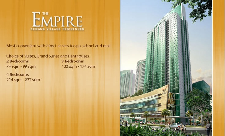 empire tower kemang village residence