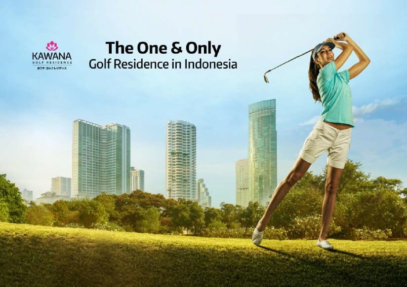 kawana golf residence the only golf residence in indonesia